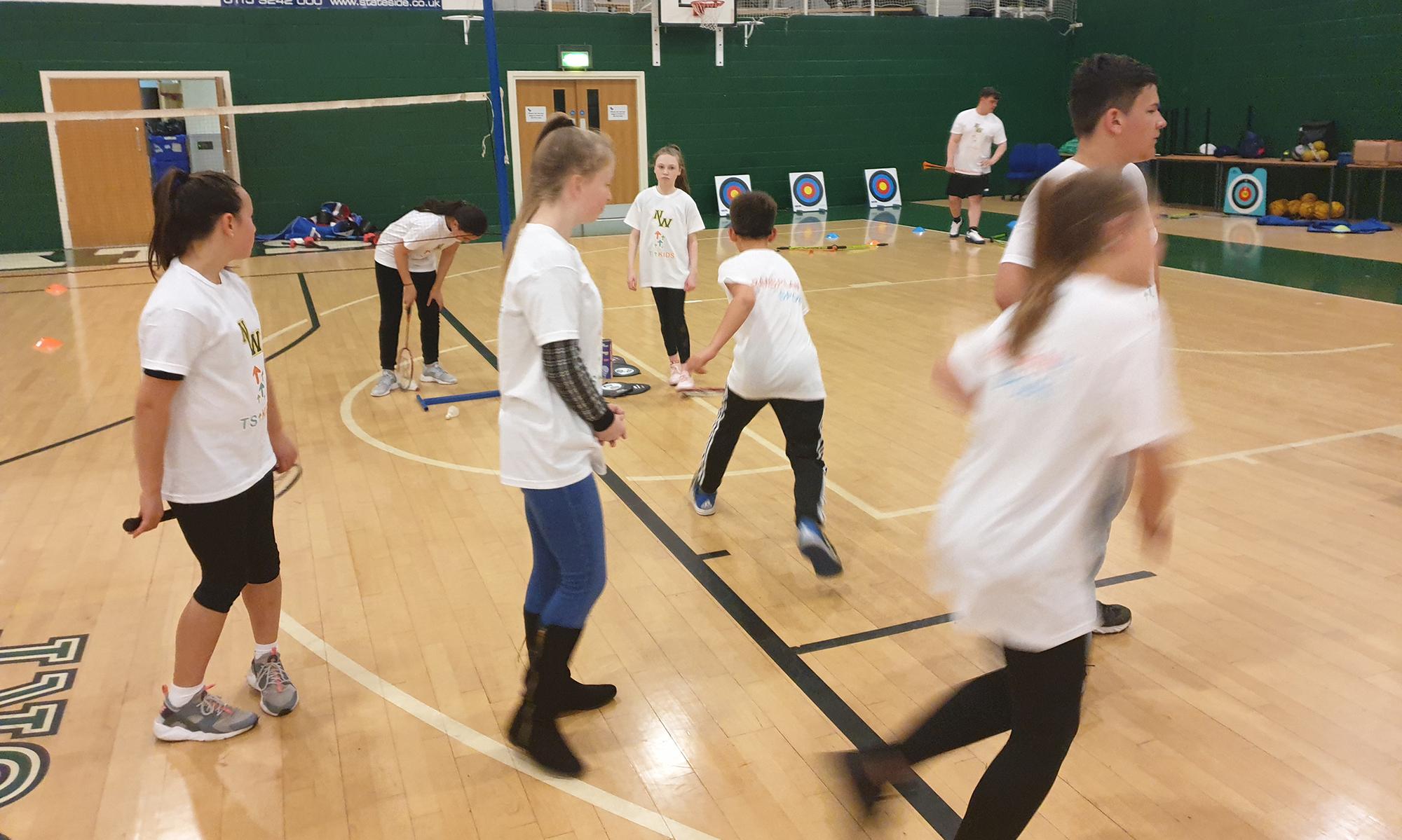 TS Kids & Teens Sports Activity Session at Warwick – January 4, 2020